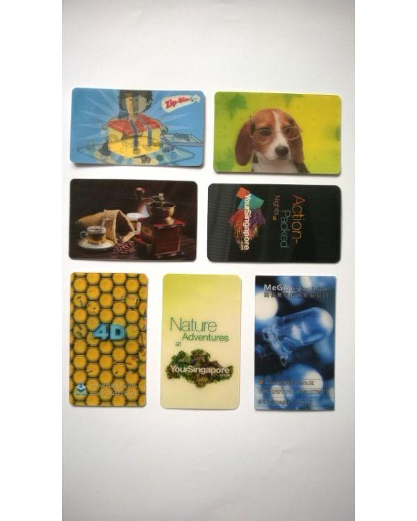 Lenticular Cards