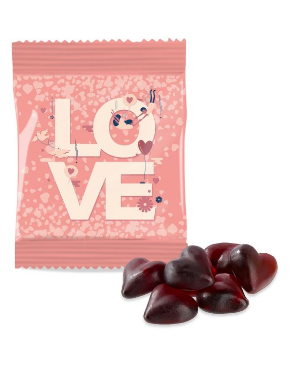 Kalfany - Kalfany Flow Bag - Kalfany Cassis Fruit Gum Hearts