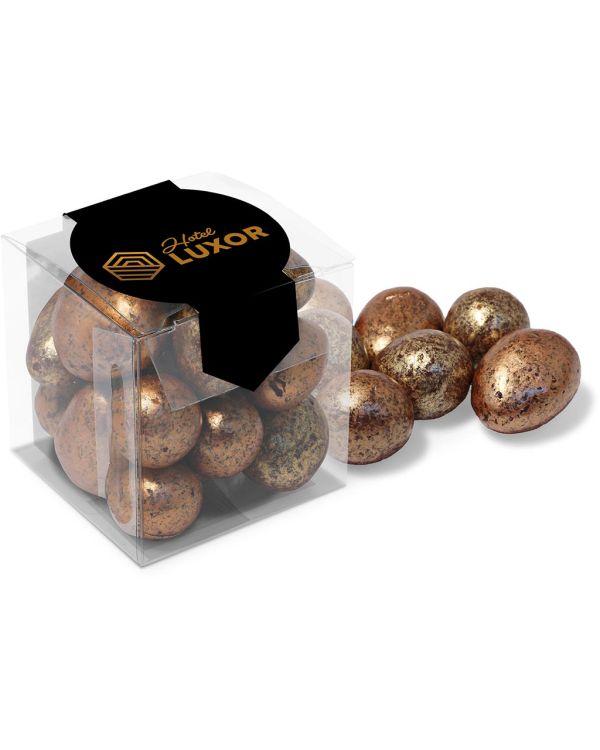 Chocolates - Clear Cube - Chocolate Coated Honeycomb