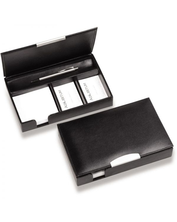 Executive Nappa Leather Desk Organiser