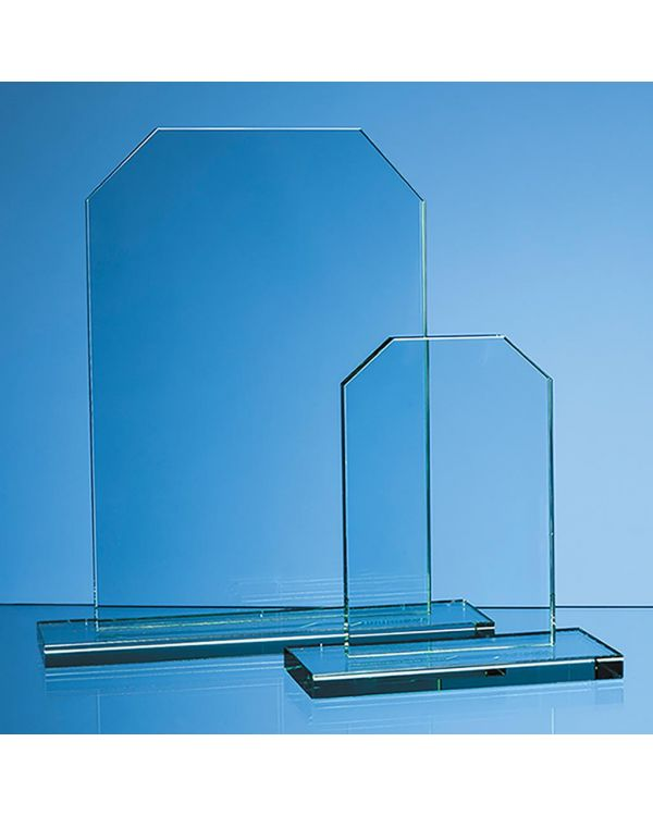 25cm x 17cm x 12mm Jade Glass Honour Award