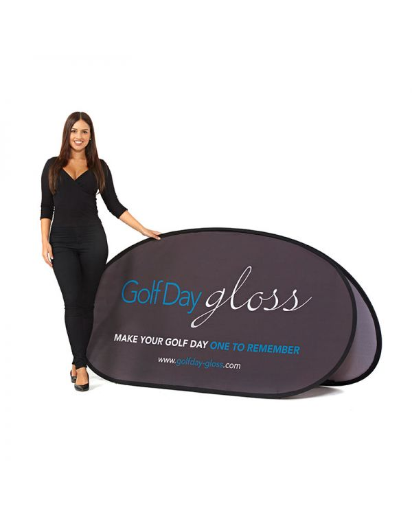 Horizontal Pop Out Banner 2m x 1m