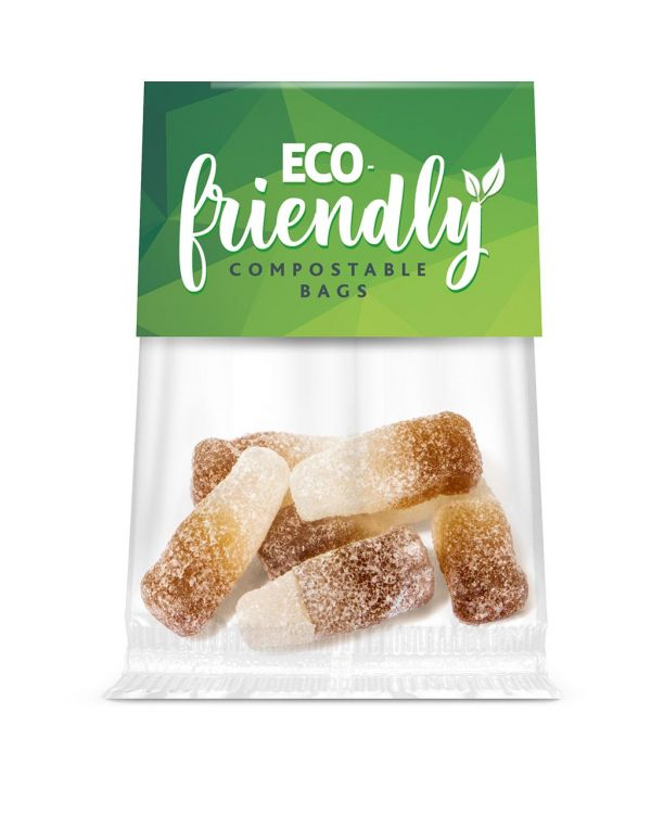 Eco Range - Eco Info Card - Fizzy Cola Bottles - 20g