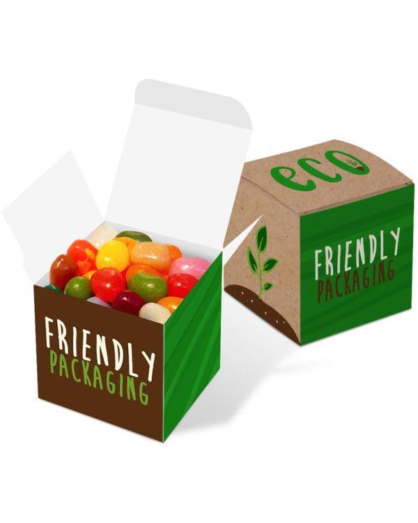 Eco Range - Eco Cube Box - The Jelly Bean Factory