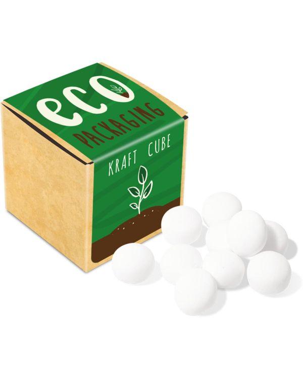 Eco Range - Eco Kraft Cube - Mint Imperials