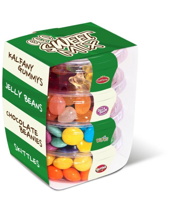 Eco Range - Eco Pot Stackers - Sweets Mix