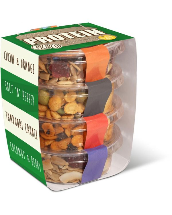 Eco Range - Eco Pot Stackers - Healthy Protein Snacks
