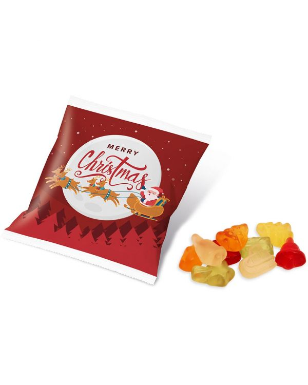 Winter Collection 2020 - Flow Bag - Kalfany Christmas Fruit Gums - 10g