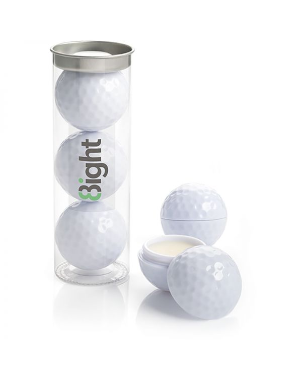 Set of 3 Golf Balls in a Tube