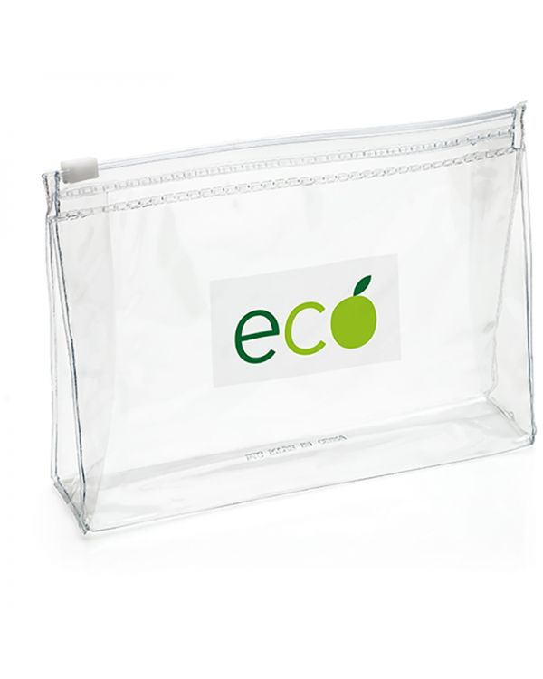 Clear Slide Zipper EVA Bag