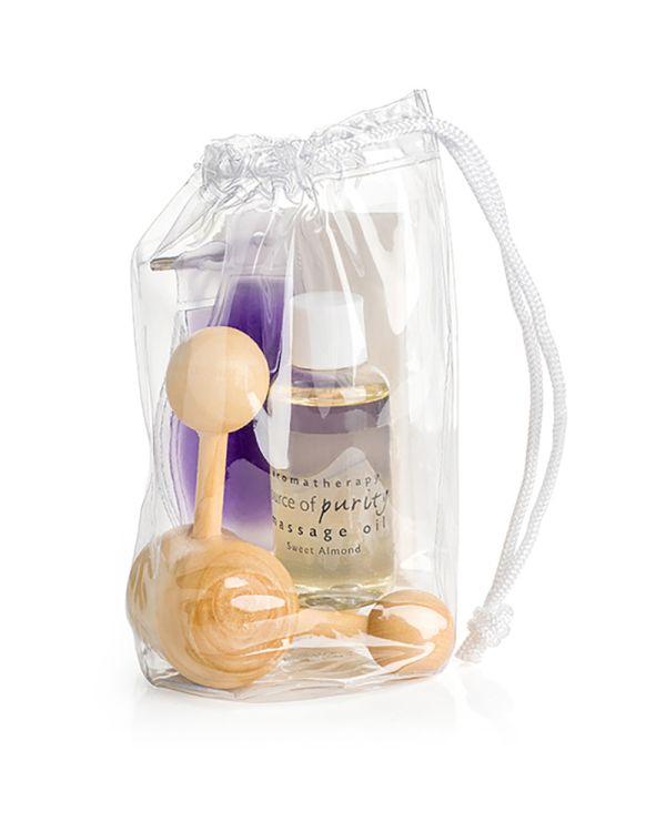 Massage Set In A Drawstring Bag