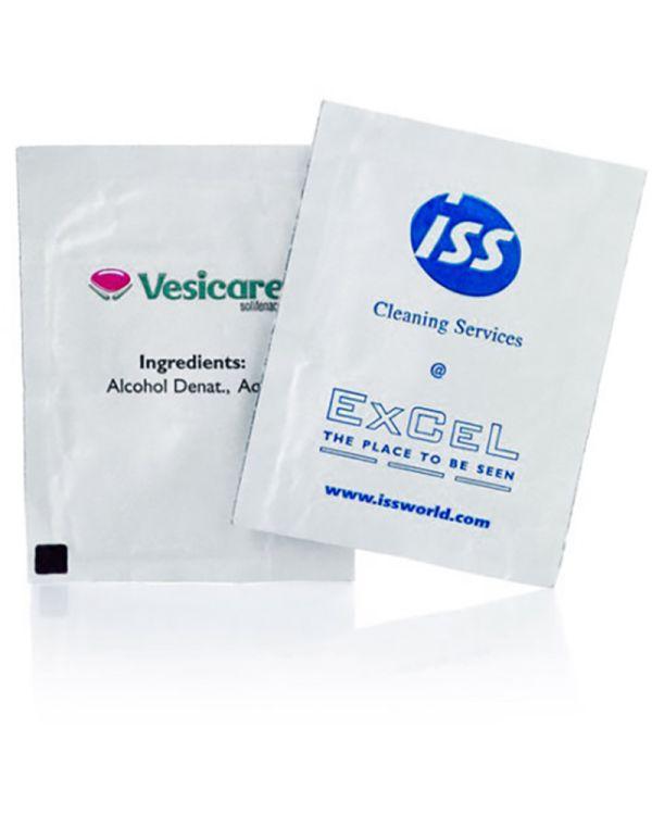 Single Anti Bacterial Wet Wipe