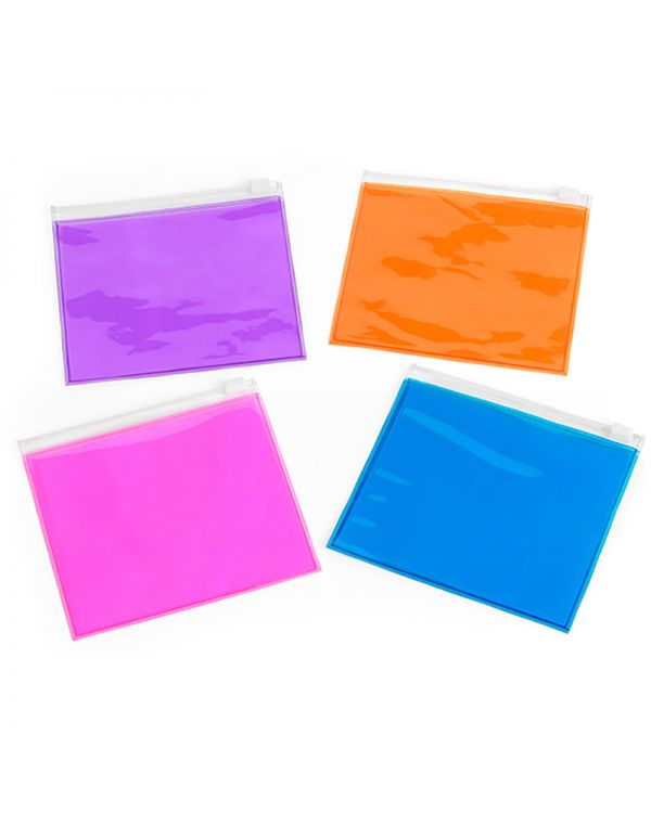 Small Slide Zip PVC Bag