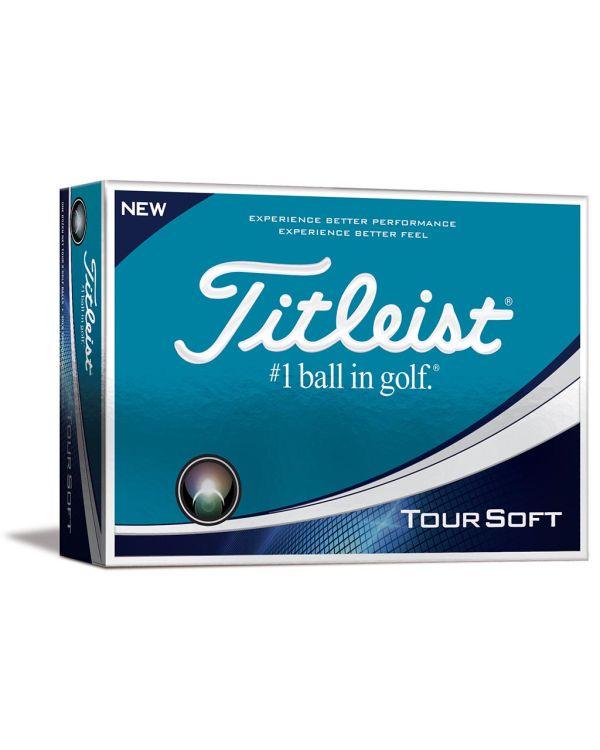 Titleist Tour Soft Printed Golf Balls