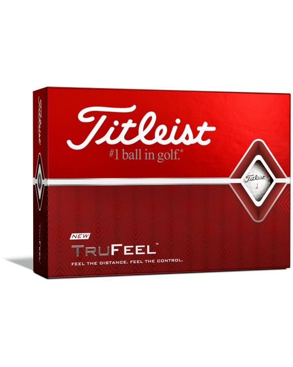 Titleist Trufeel Printed Golf Balls