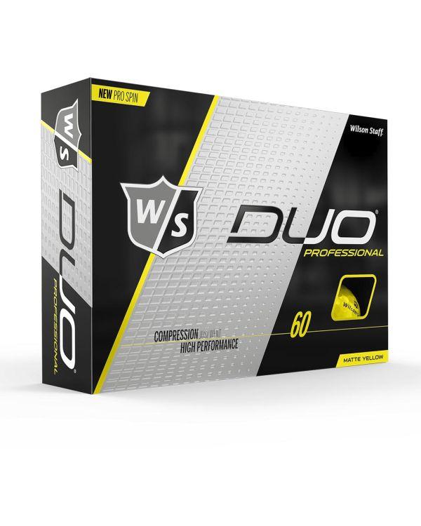 Wilson Staff Duo Pro (Yellow, Orange Or Green) Printed Golf Balls