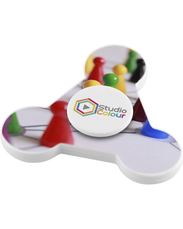 Twister Fidget Spinner (Full Colour Print to Both Sides of Disc Only)