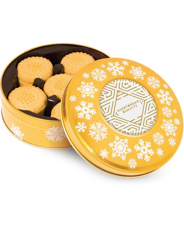 Winter Collection - Share Tin - Shortbread Biscuits - Gold