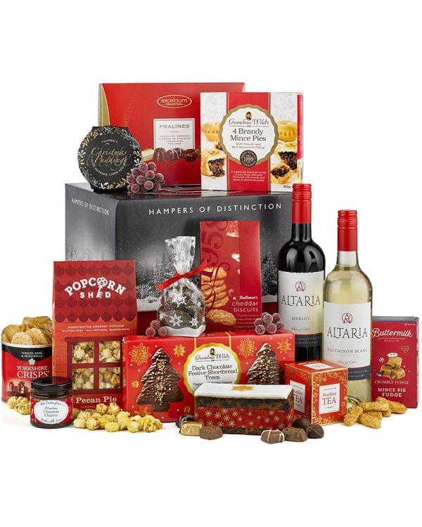 Classic Christmas Luxury Wine Hamper