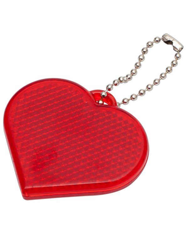 Heart Hard Reflective Keyrings
