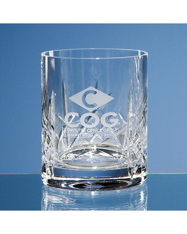 320ml Flamenco Crystalite Panel Whisky Tumbler