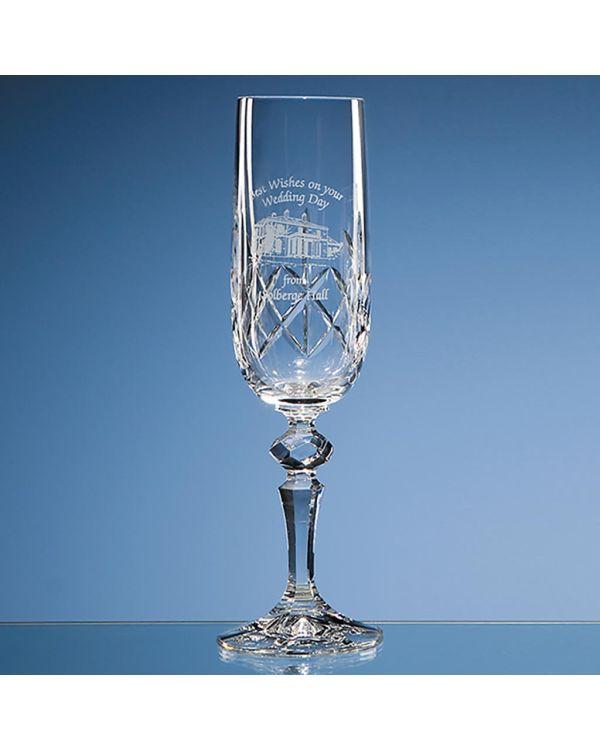 180ml Flamenco Crystalite Panel Champagne Flute