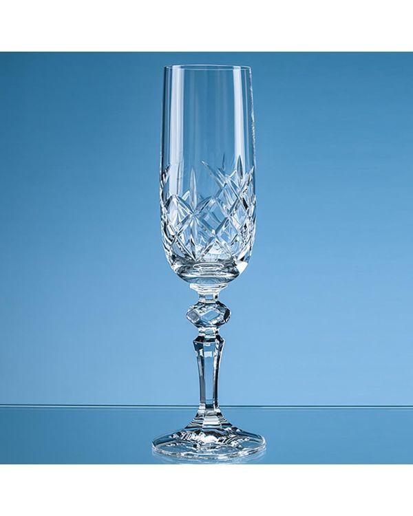 180ml Flamenco Crystalite Full Cut Champagne Flute