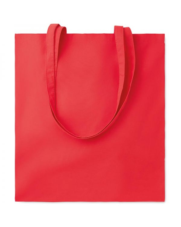 Cottonel Colour Shopping Bag With Long Handles