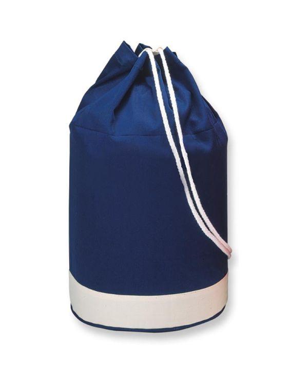 Yatch Cotton Duffle Bag Bicolour