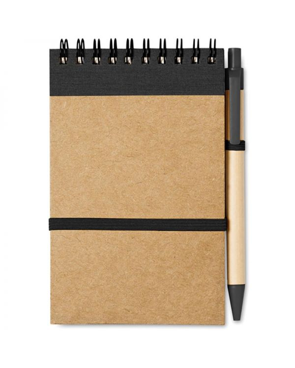 Sonora Recycled Paper Notebook + Pen