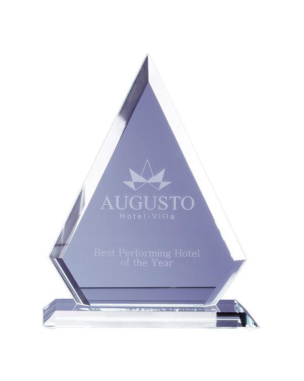 Jade Glass Facet Diamond Award