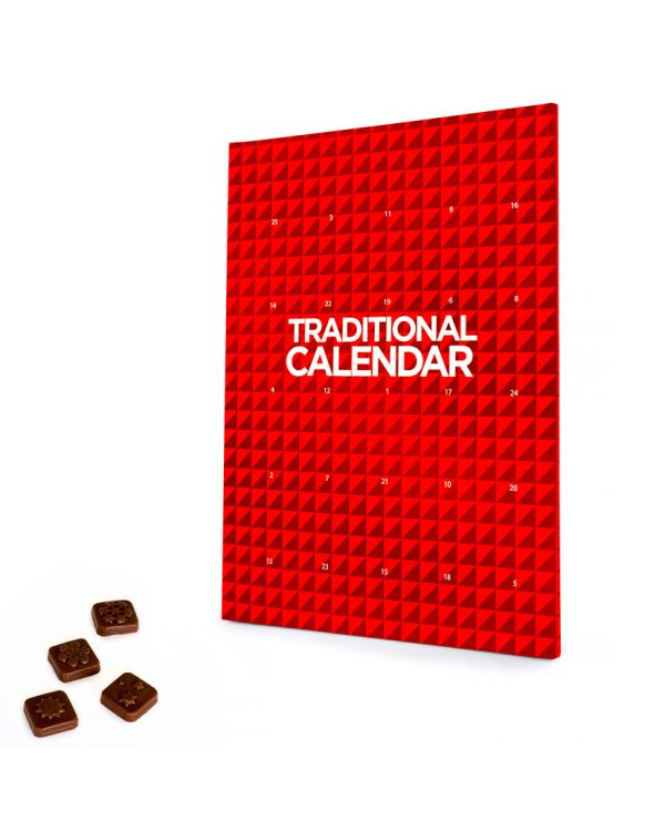 Traditional 'A4' Promotional Advent Calendar