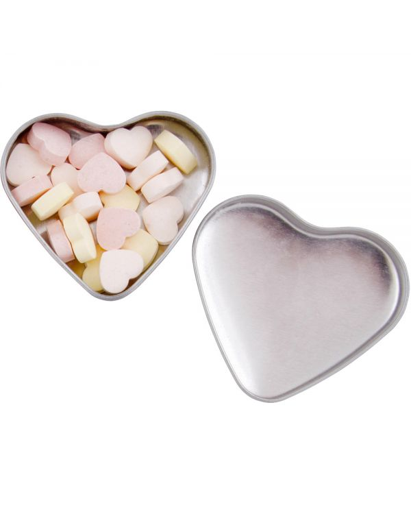 Heart Tin With Heart Sweets