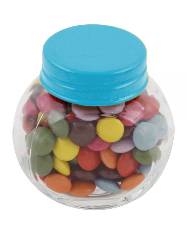 Small Glass Jar With Chocos
