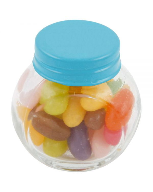 Small Glass Jar With Jelly Beans