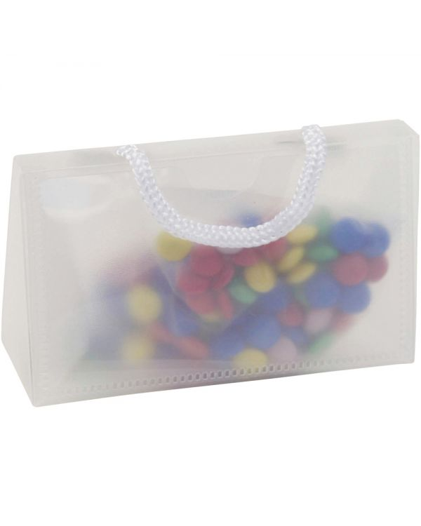PVC Bag With Business Card Pocket And Coated Chocos