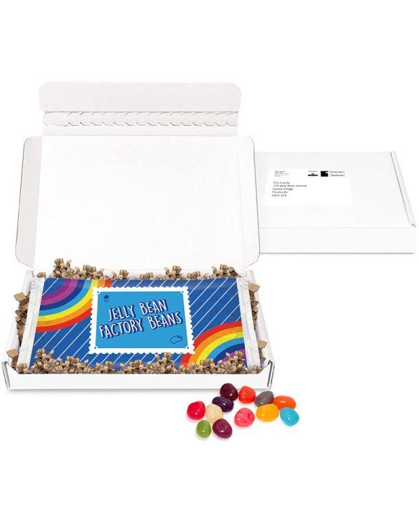 Postal Packs - Midi Postal Box - Jelly Bean Flow Bag - DIGITAL PRINT