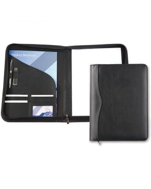 Oakham A4 Zipped Conference Folder