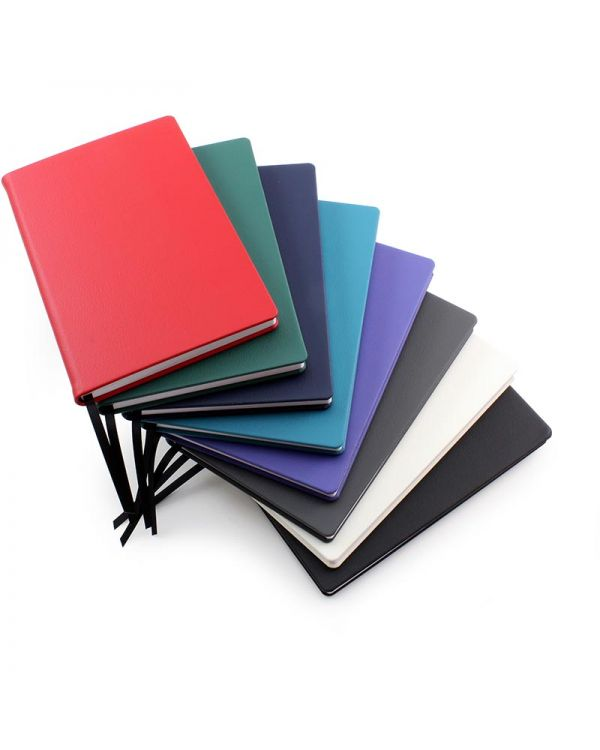 Recycled Eleather A5 Casebound Notebook