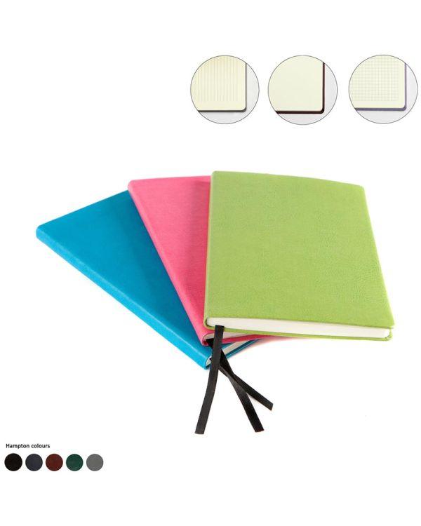 Hampton Leather A5 Casebound Notebook