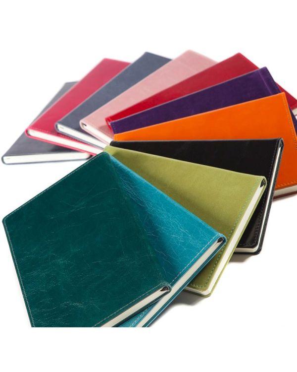 Kensington Leather A5 Casebound Notebook