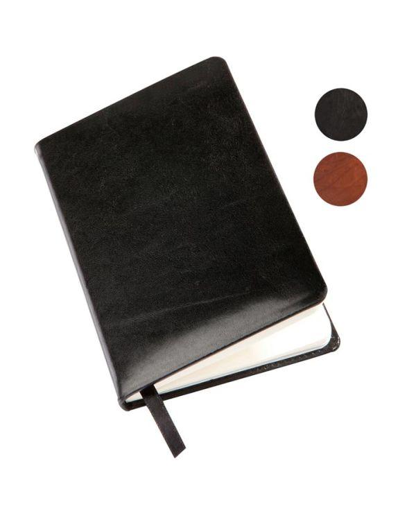 Richmond Italian Leather A5 Casebound Notebook