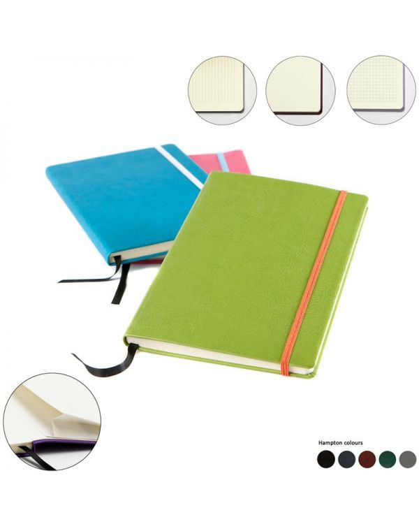 Woburn Leather A5 Casebound Notebook Deluxe