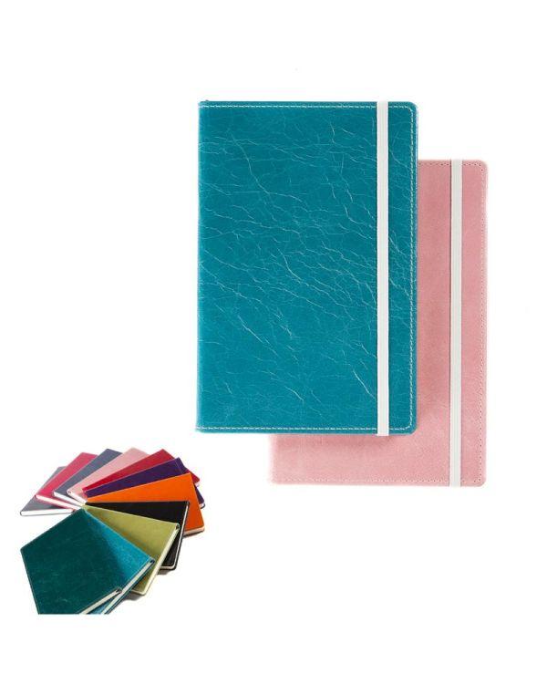 Kensington Leather A5 Casebound Notebook Deluxe