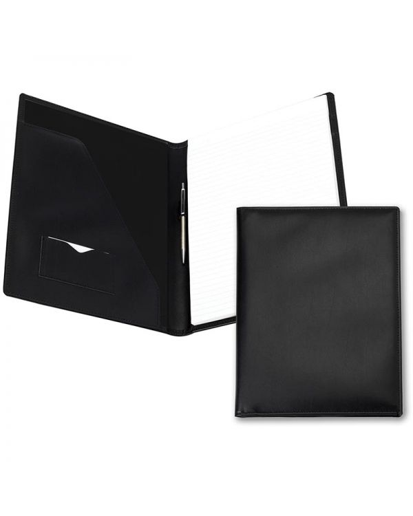 A4 Conference Folder With Co Ordinating Leather Interior Pockets