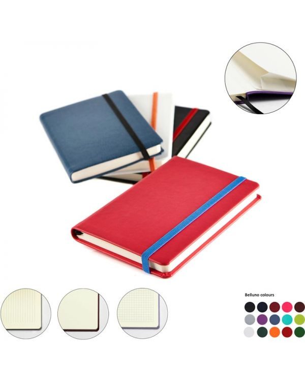 Vibrance Pocket Casebound Notebook Deluxe