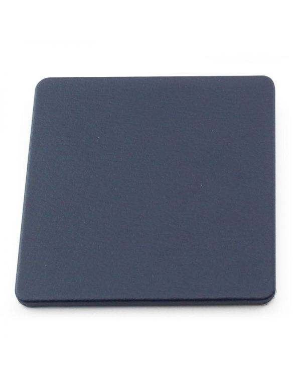 Recycled Eleather Square Stitched Coaster