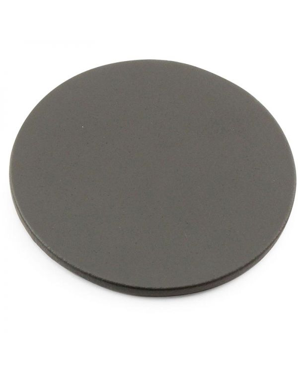 Recycled Eleather Round Stitched Coaster