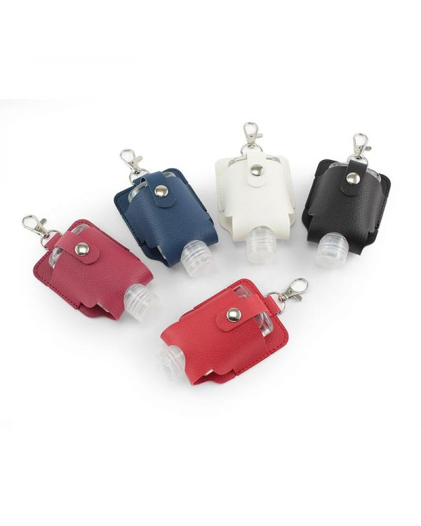 Hand Sanitiser Pouch With Clip, In Recycled Como