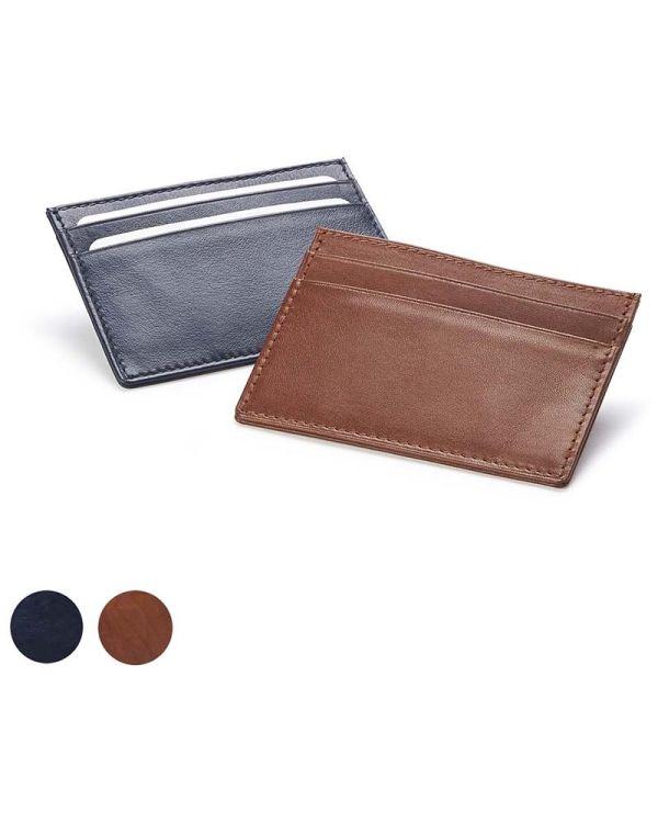 Sandringham Nappa Leather Deluxe Slim Card Case
